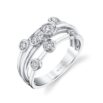 MARS 26855 Fashion Ring, 0.52 Ctw.