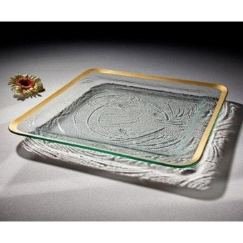 "15 3/4"" large square tray"