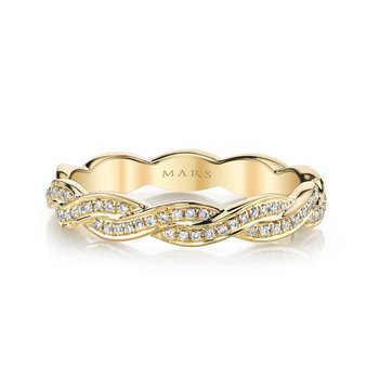 MARS Jewelry - Wedding Band 26604