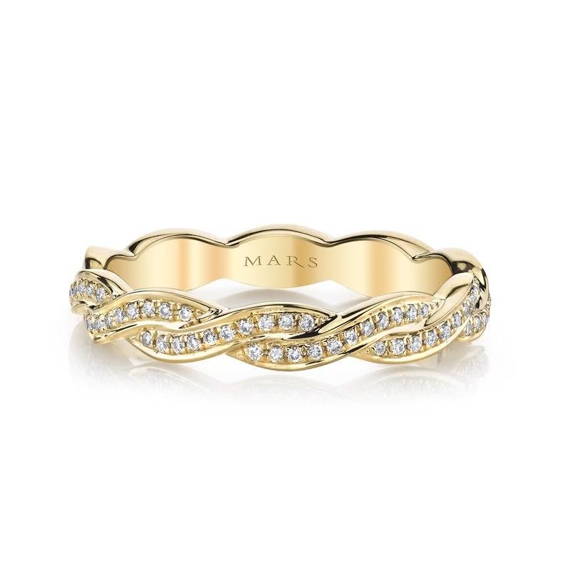 MARS Jewelry MARS 26604 Fashion Ring, 0.15 Ctw.