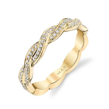 MARS 26604 Fashion Ring, 0.15 Ctw.