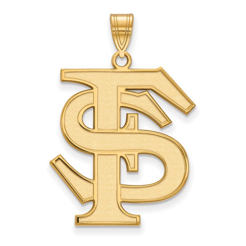 NCAA Gold-Plated Sterling Silver Florida State University NCAA Pendant