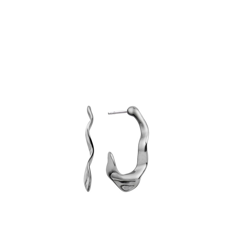 Nambé Jewelry Oceana Hoop Earrings
