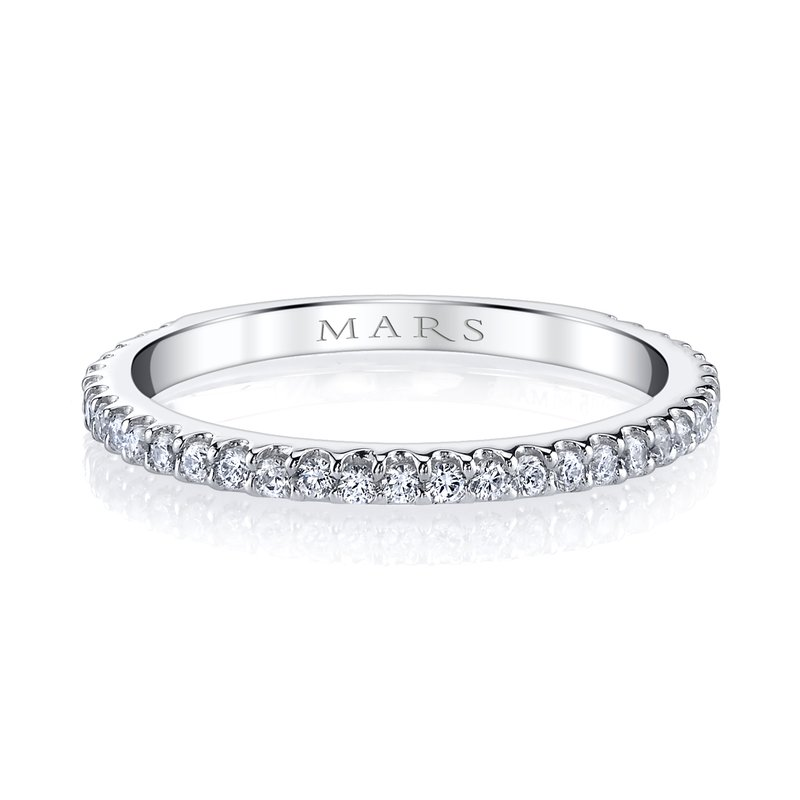 MARS Jewelry MARS 26268 Stackable Ring, 0.30 Ctw.