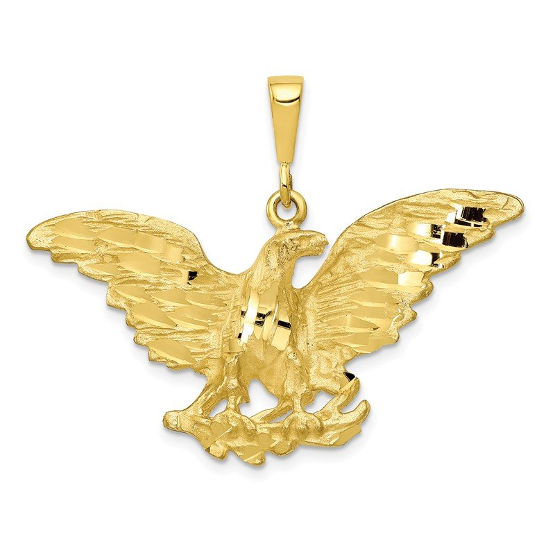 Quality Gold 10k Eagle Charm