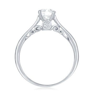 IS- The Happy Diamond Scroll Ring