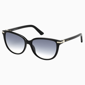 Edith Sunglasses, SK0077-F 01B, Black