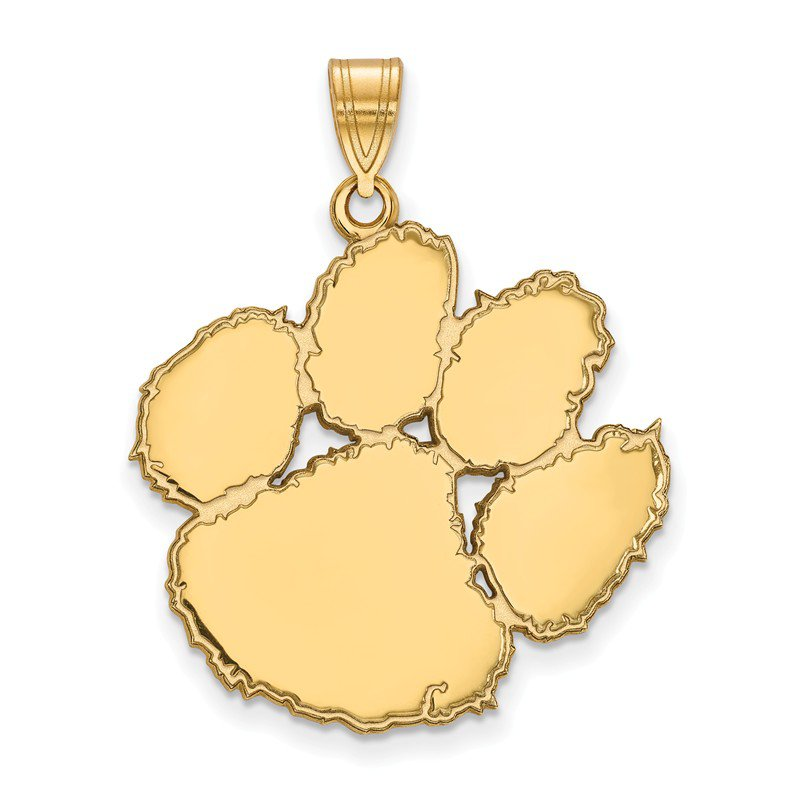 NCAA Gold Clemson University NCAA Pendant