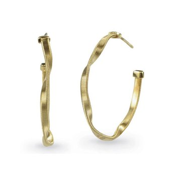 Marrakech Gold Small Hoop Earrings