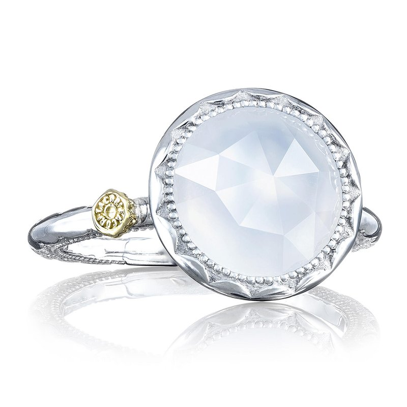 Tacori Fashion Crescent Bezel Ring featuring Chalcedony