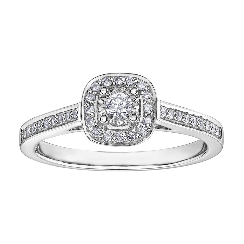 Timeless Beauty Diamond Ladies Engagement Ring