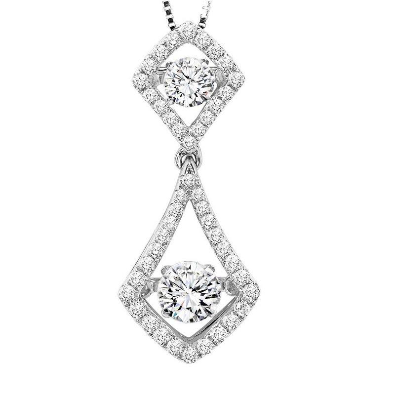 Lawrence jewelers rhythm of love 14k diamond rhythm of love pendant rhythm of love 14k diamond rhythm of love pendant 34 ctw aloadofball Image collections