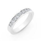 Forevermark Channel Set Round Diamond Ladies Wedding Band