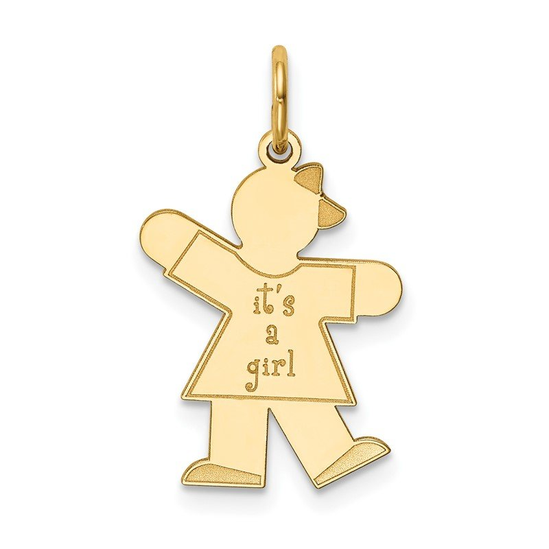 Fine Jewelry by JBD 14k Kid Charm