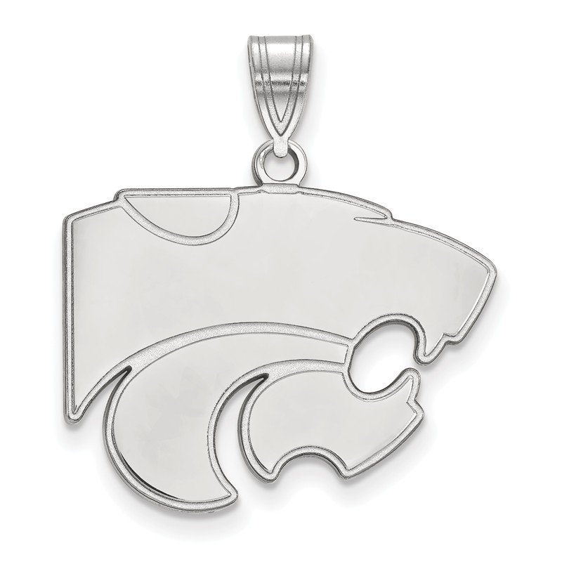 NCAA Sterling Silver Kansas State University NCAA Pendant
