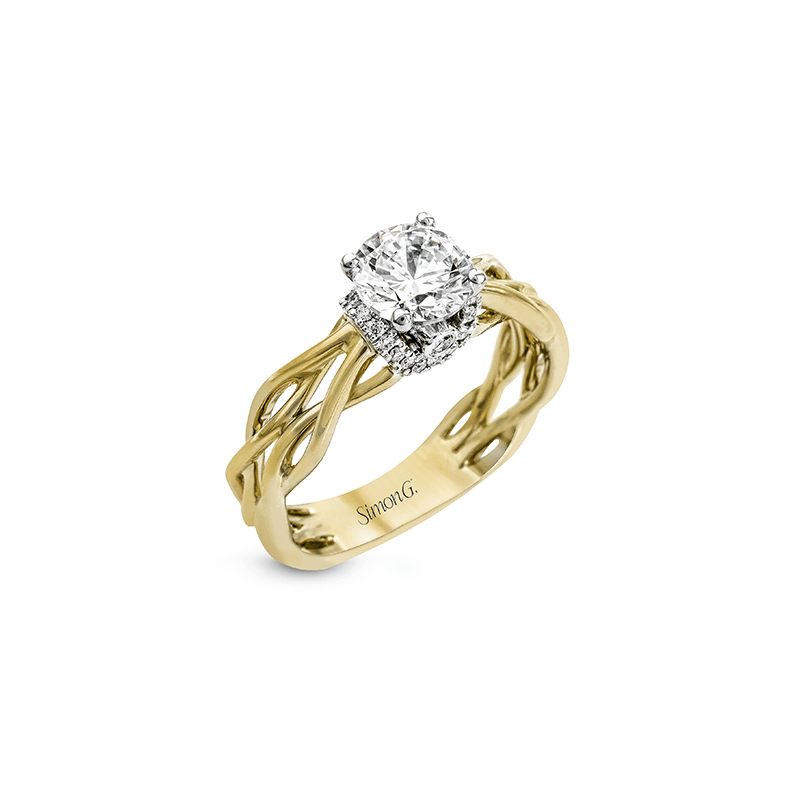 Simon G MR2511 ENGAGEMENT RING