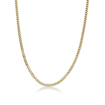 Stainless Steel Black Ion Plated Thin Foxtail Chain Necklace - 4 MM Wide, 22 Inches Length with Push Lock Lock