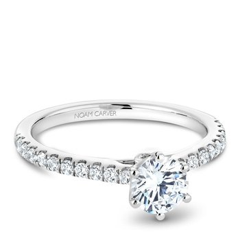 Noam Carver Modern Engagement Ring B142-17A