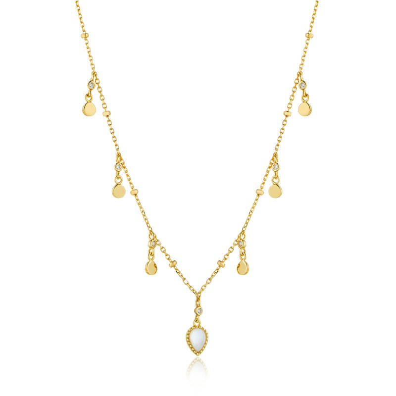 Ania Haie Dream Drop Discs Necklace