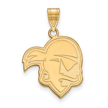 Gold-Plated Sterling Silver Seton Hall University NCAA Pendant