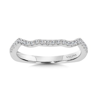 Diamond and 14K White Gold Wedding Ring (0.18 ct. tw.)