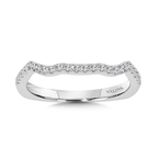 Valina Diamond and 14K White Gold Wedding Ring (0.18 ct. tw.)
