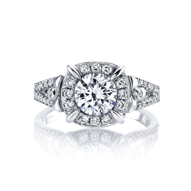 MARS 25949 Diamond Engagement Ring, 0.36 ct tw