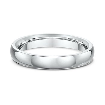 Polished Plain Wedding Band