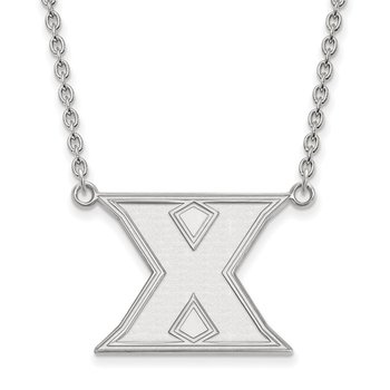 Sterling Silver Xavier University NCAA Necklace