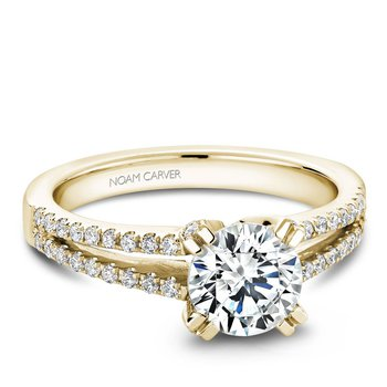 Noam Carver Modern Engagement Ring B002-03YA