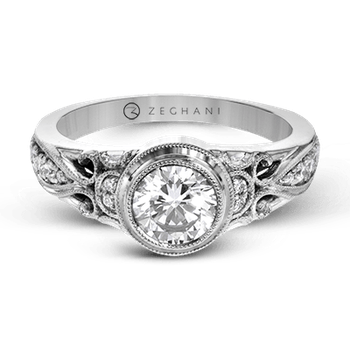 ZR1397 ENGAGEMENT RING