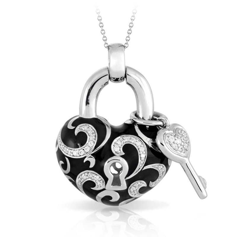 Belle Etoile Key To My Heart Pendant