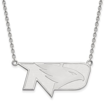 Gold University of North Dakota NCAA Necklace