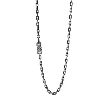 Boat Link Necklace With Hook Clasp (24 In. Lenght)