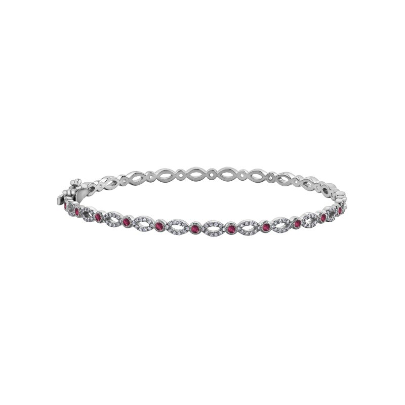 Timeless Beauty Ruby Bracelet