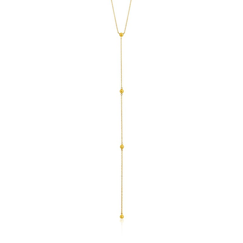 Ania Haie Modern Beaded Y Necklace