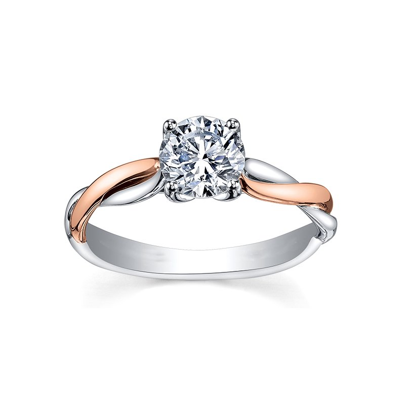 Maple Leaf Diamonds Maple Leaf Diamond Eternal Flames Ladies Solitaire