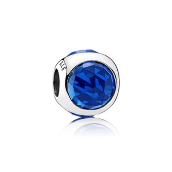 Radiant Droplet Charm, Royal Blue Crystals