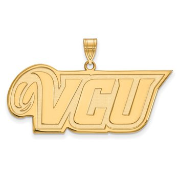 Gold Virginia Commonwealth University NCAA Pendant