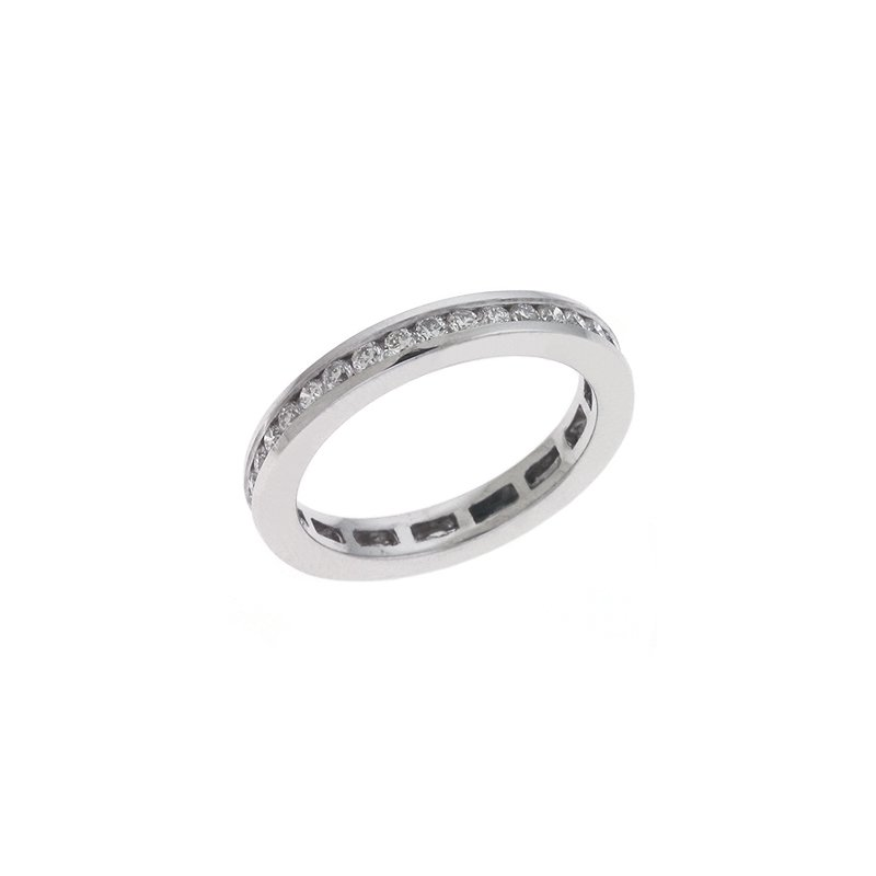 S. Kashi & Sons Bridal Eternity Band Channel Set Band