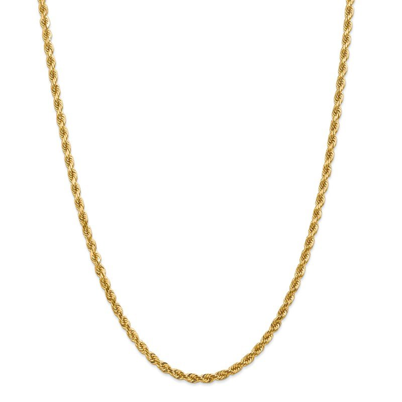 Leslie's Leslie's 14K 4.00mm Diamond-Cut Rope Chain