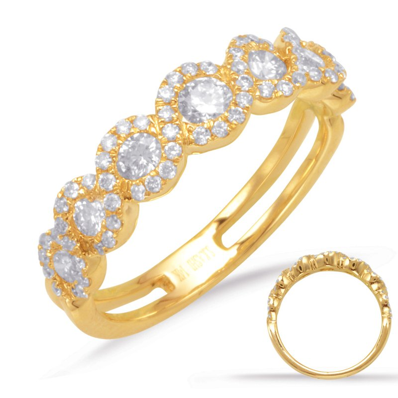 S. Kashi & Sons Bridal Yellow Gold Fashion Ring