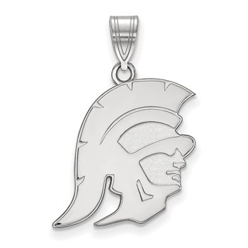 Sterling Silver University of Southern California NCAA Pendant