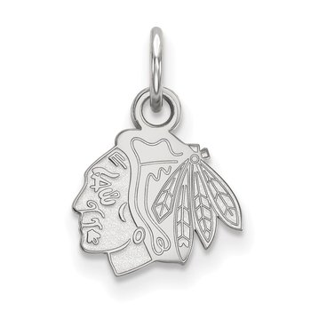 Gold Chicago Blackhawks NHL Pendant