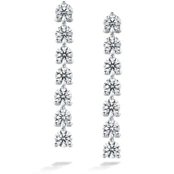 Cascade Stiletto Earring 7 Stone