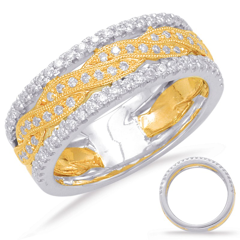 S. Kashi  & Sons Yellow & White Gold Diamond Fashion