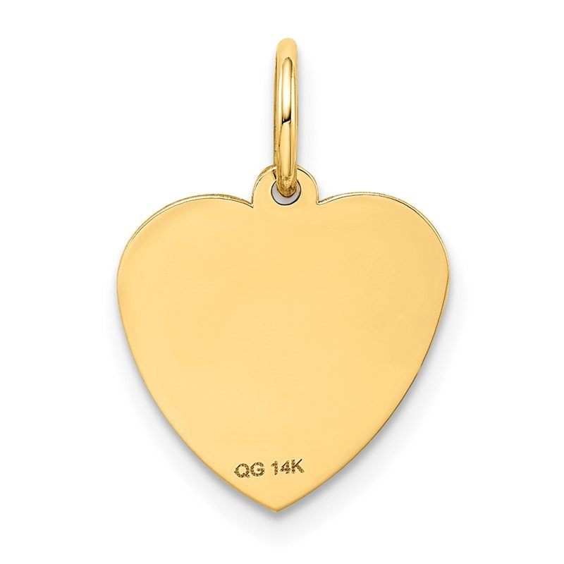 Quality Gold 14k #1 GRANDDAUGHTER Charm