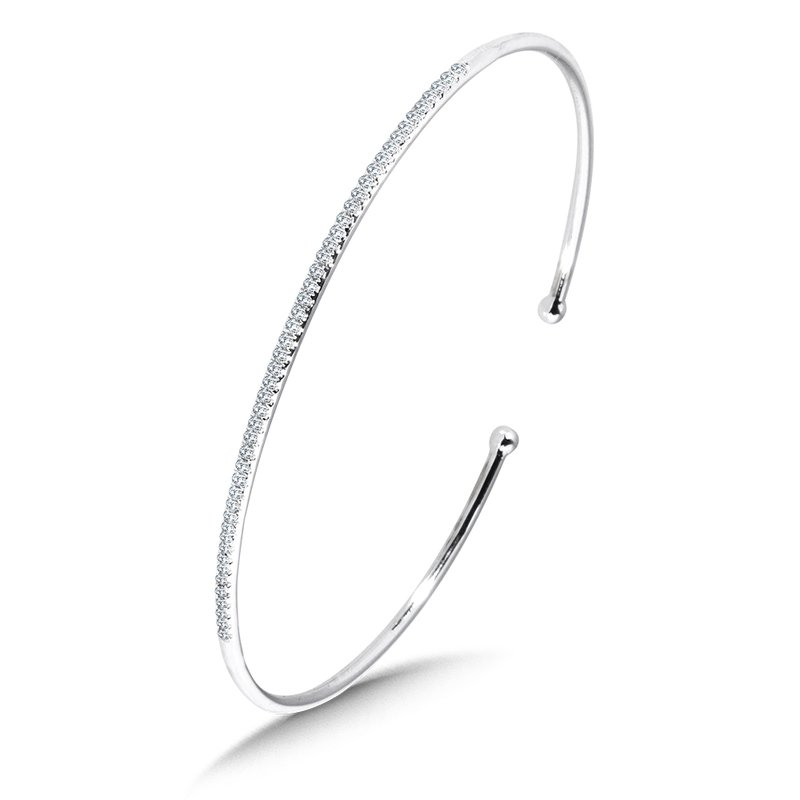 SDC Creations Classic Pave Diamond Bangle