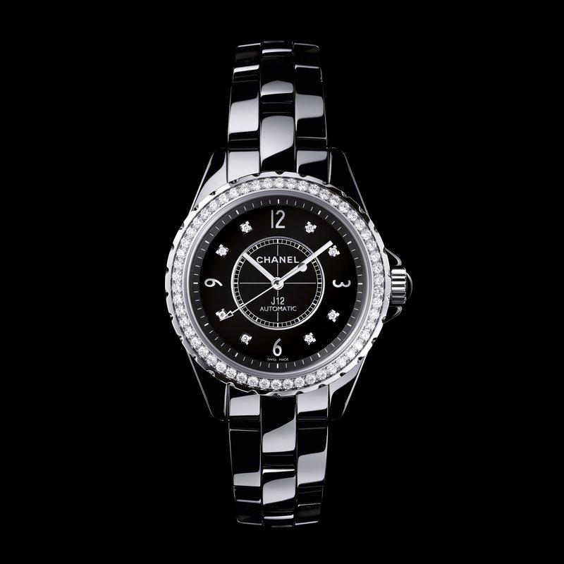 Joseph Anthony Fine Jewelry Chanel J12 Black With Diamond