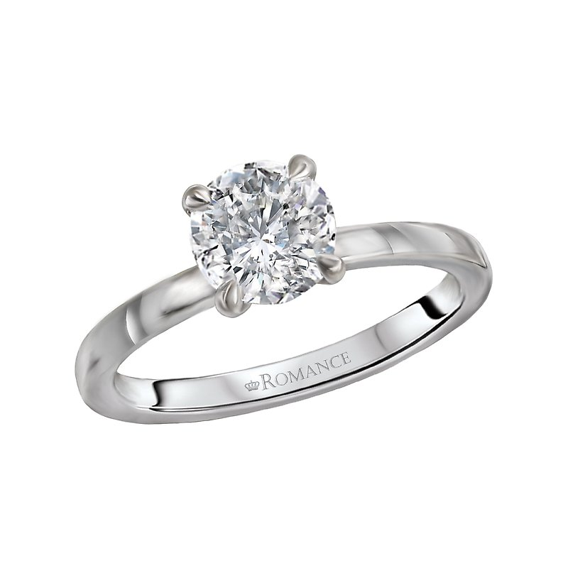 Romance Diamond Semi Mount Engagement Ring